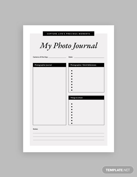 14 FREE Notebook Journal Templates Download Printable