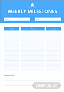 Free Real Estate Journal Template