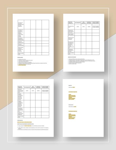 Simple New Restaurant Opening Checklist