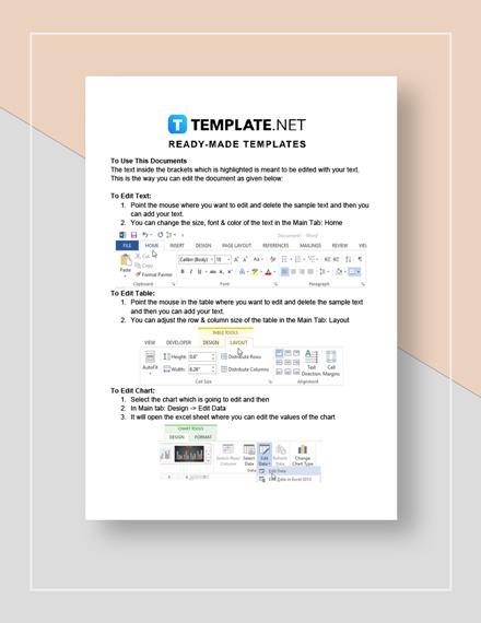 Restaurant Disciplinary Notice Form Instructions