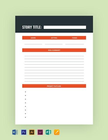 Writer Journal Template
