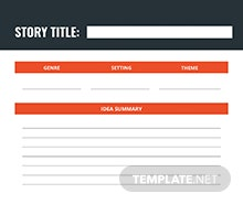 Free Writer Journal Template