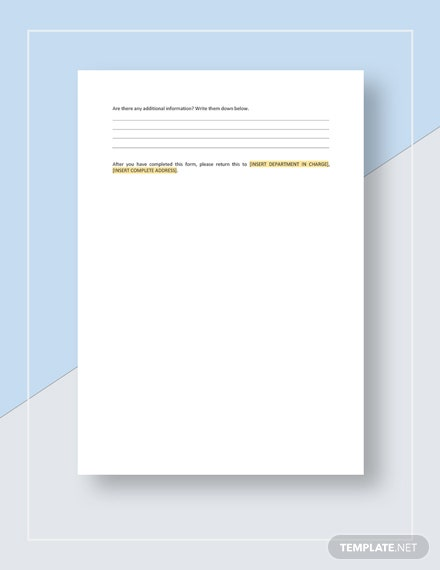 Restaurant Employee Complaint Form Download