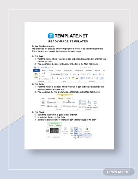 Letter Announcing New Restaurant Service Template