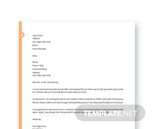 Free Executive Job Offer Letter Template in Microsoft Word Apple