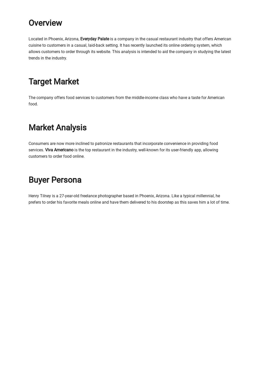 Restaurant Market Analysis Template 1.jpe
