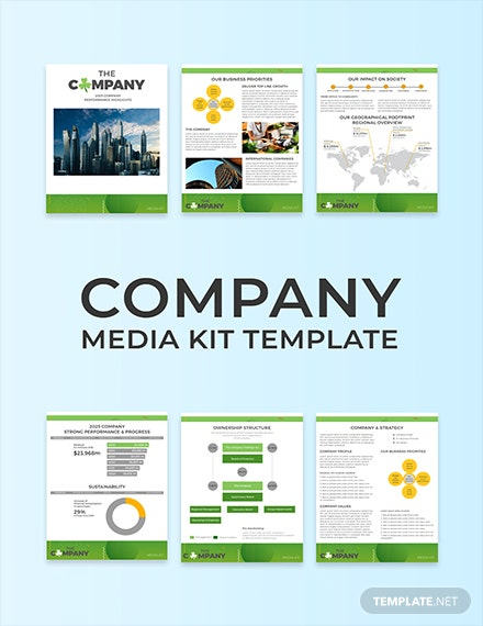 29 Free Media Kit Templates Download Ready Made Template