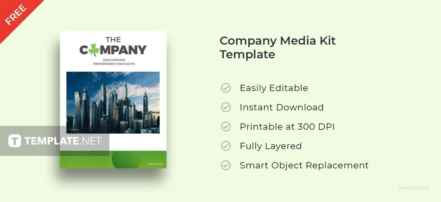 company media kit 1 template