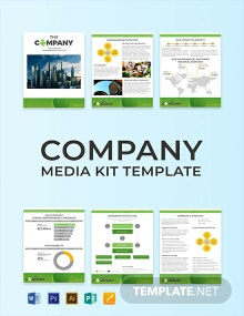 Free Creative Company Media Kit Template