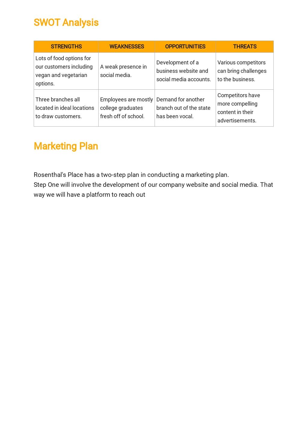 Restaurant Franchise Business Plan Template 3.jpe