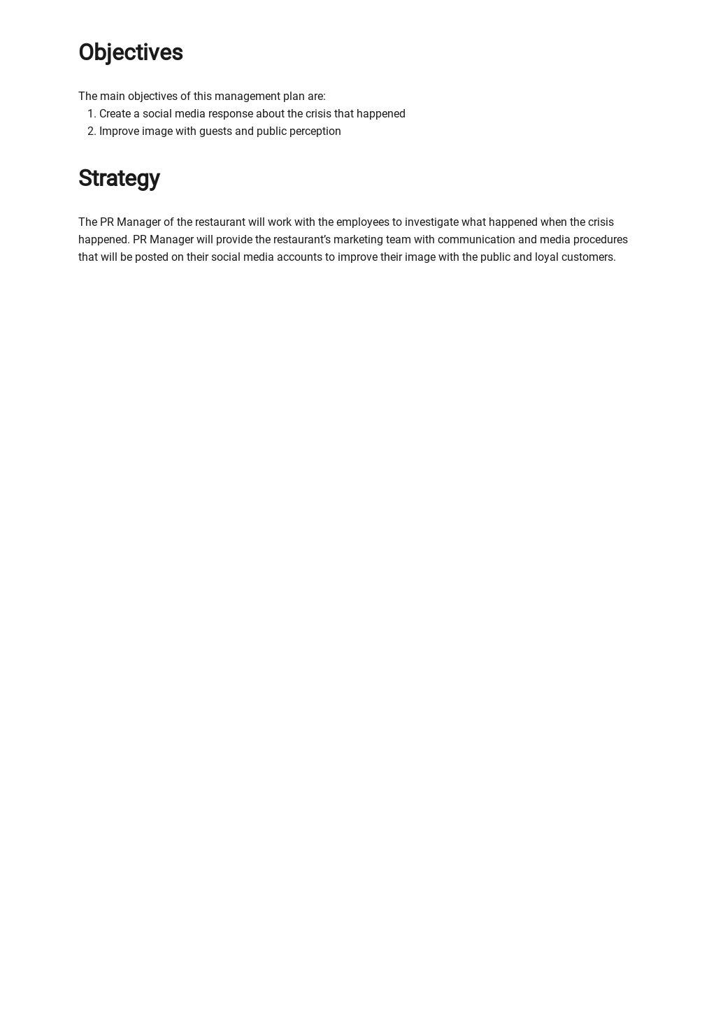 Restaurant Crisis Management Plan Template 1.jpe