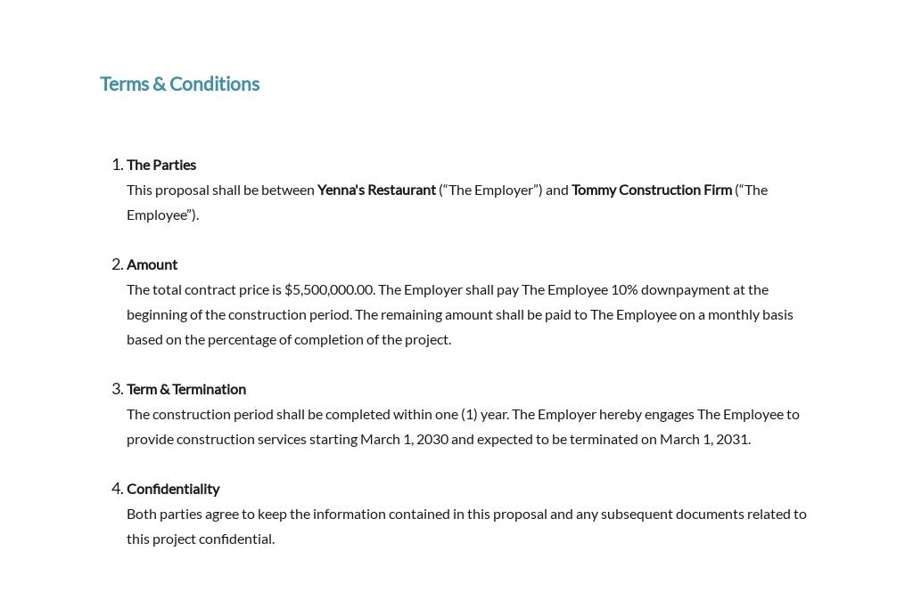 Restaurant Contractor Proposal Template 6.jpe