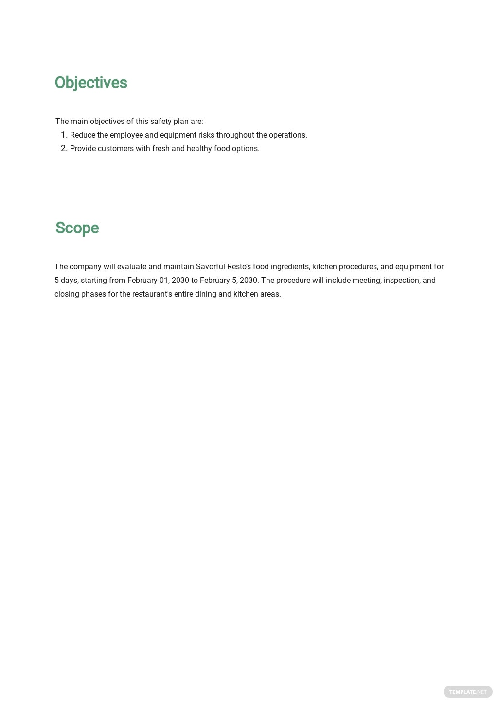 Restaurant Food Safety Plan Template 1.jpe