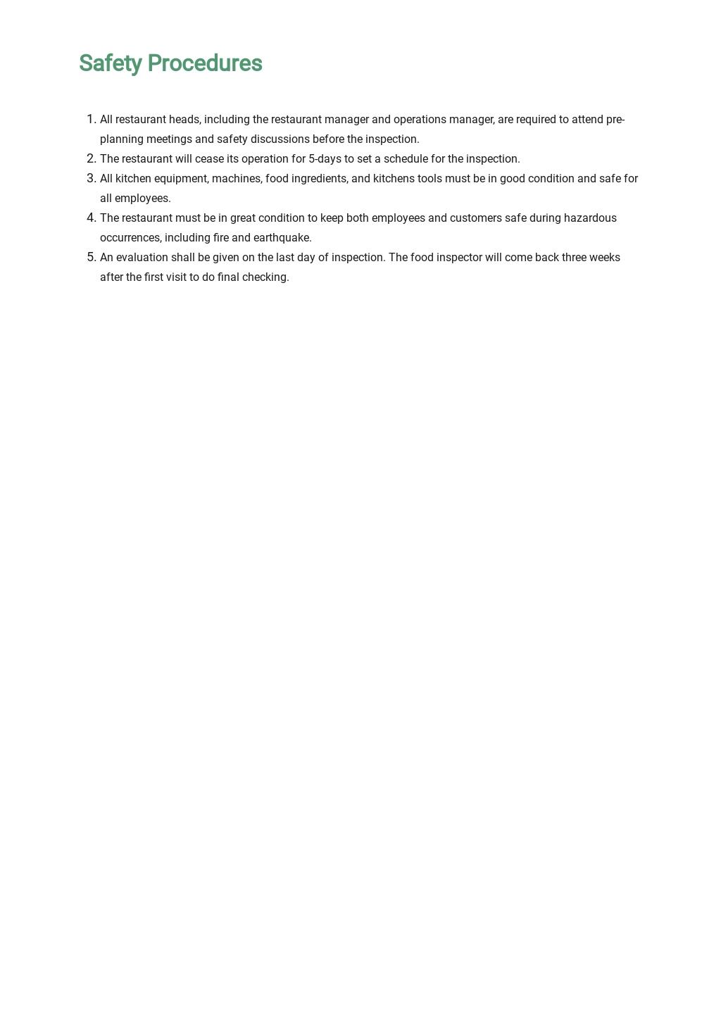Restaurant Food Safety Plan Template 4.jpe