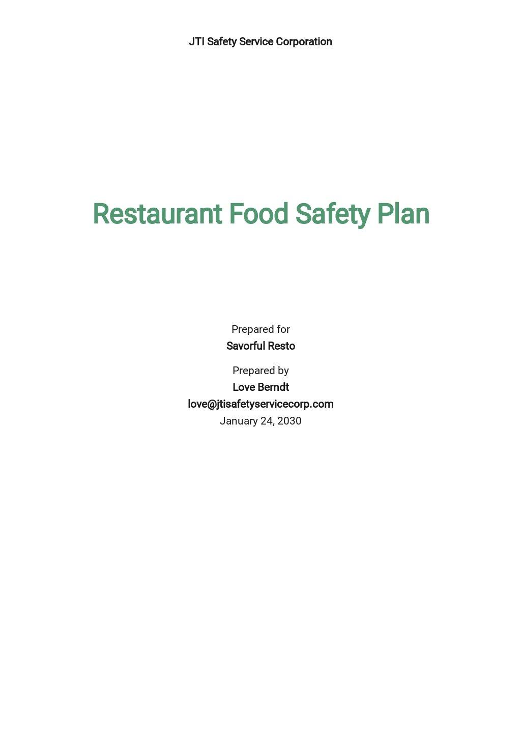 Restaurant Food Safety Plan Template.jpe