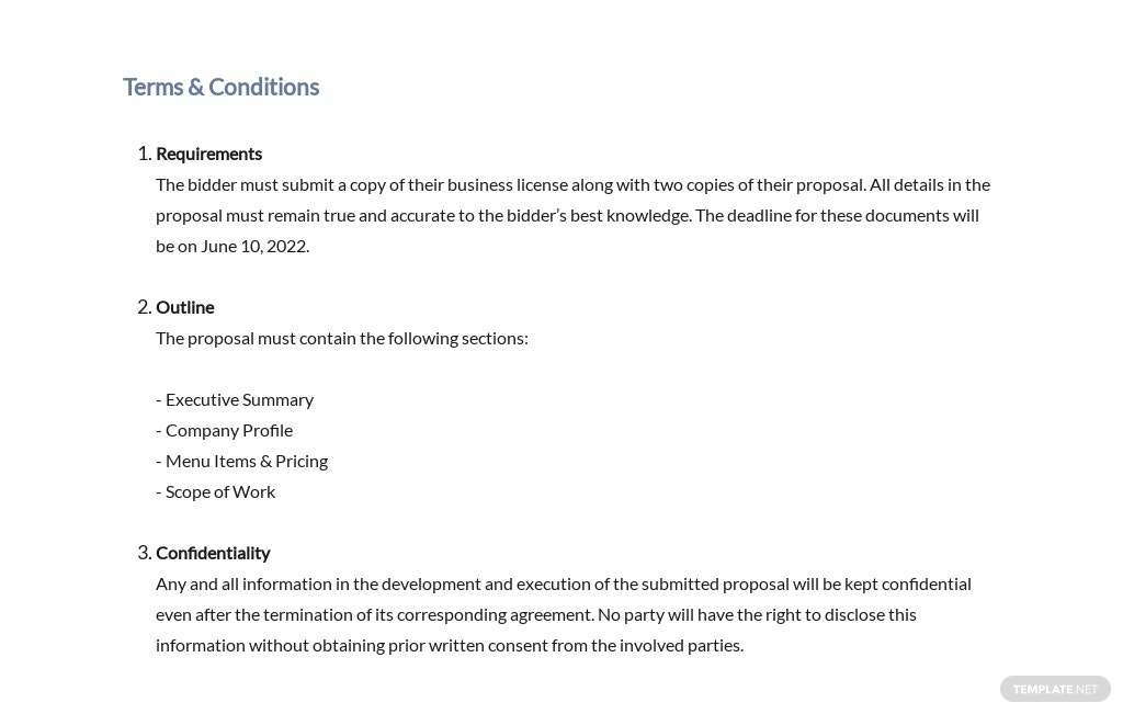Restaurant Request for Proposal Template 5.jpe