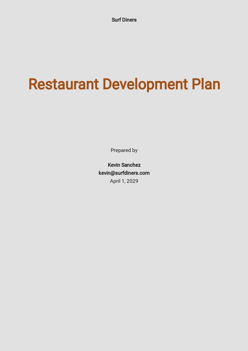 Restaurant Development Plan Template.jpe