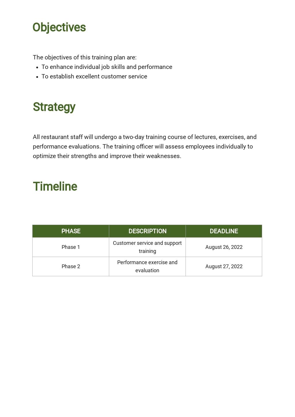 Restaurant Staff Training Plan Template 1.jpe