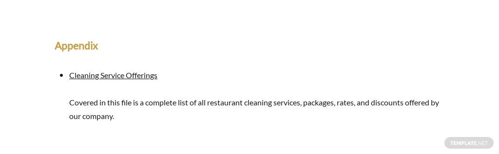 Restaurant Cleaning Proposal Template 6.jpe
