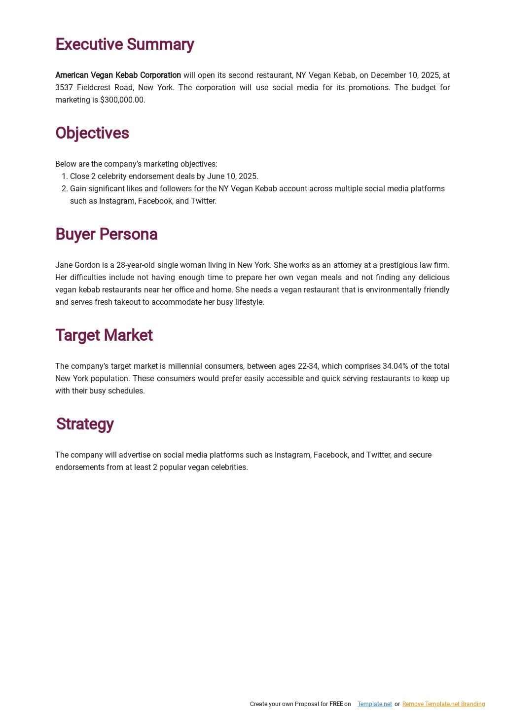 Restaurant Digital Marketing Plan Template 1.jpe