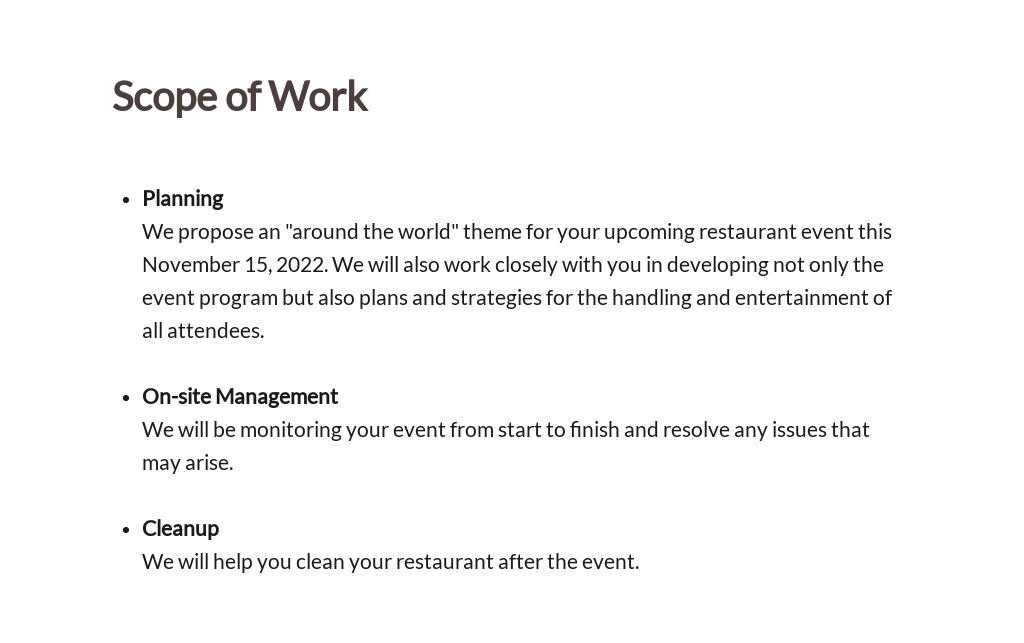 Restaurant Event Proposal Template 2.jpe