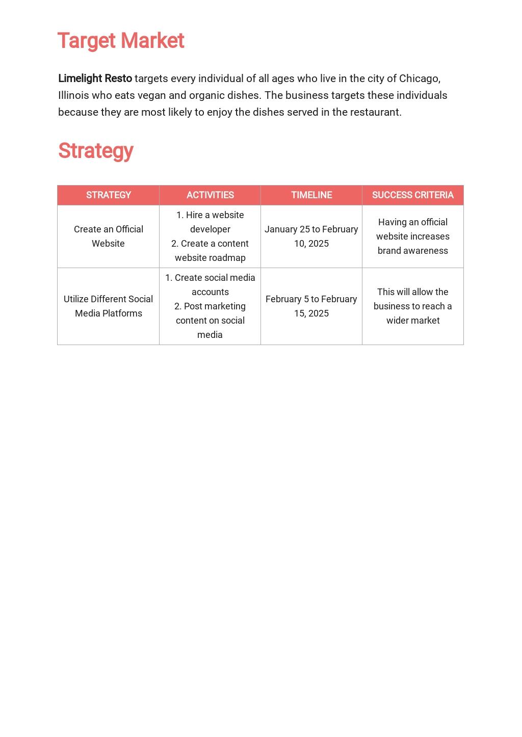 Restaurant Social Media Marketing Plan Template 2.jpe