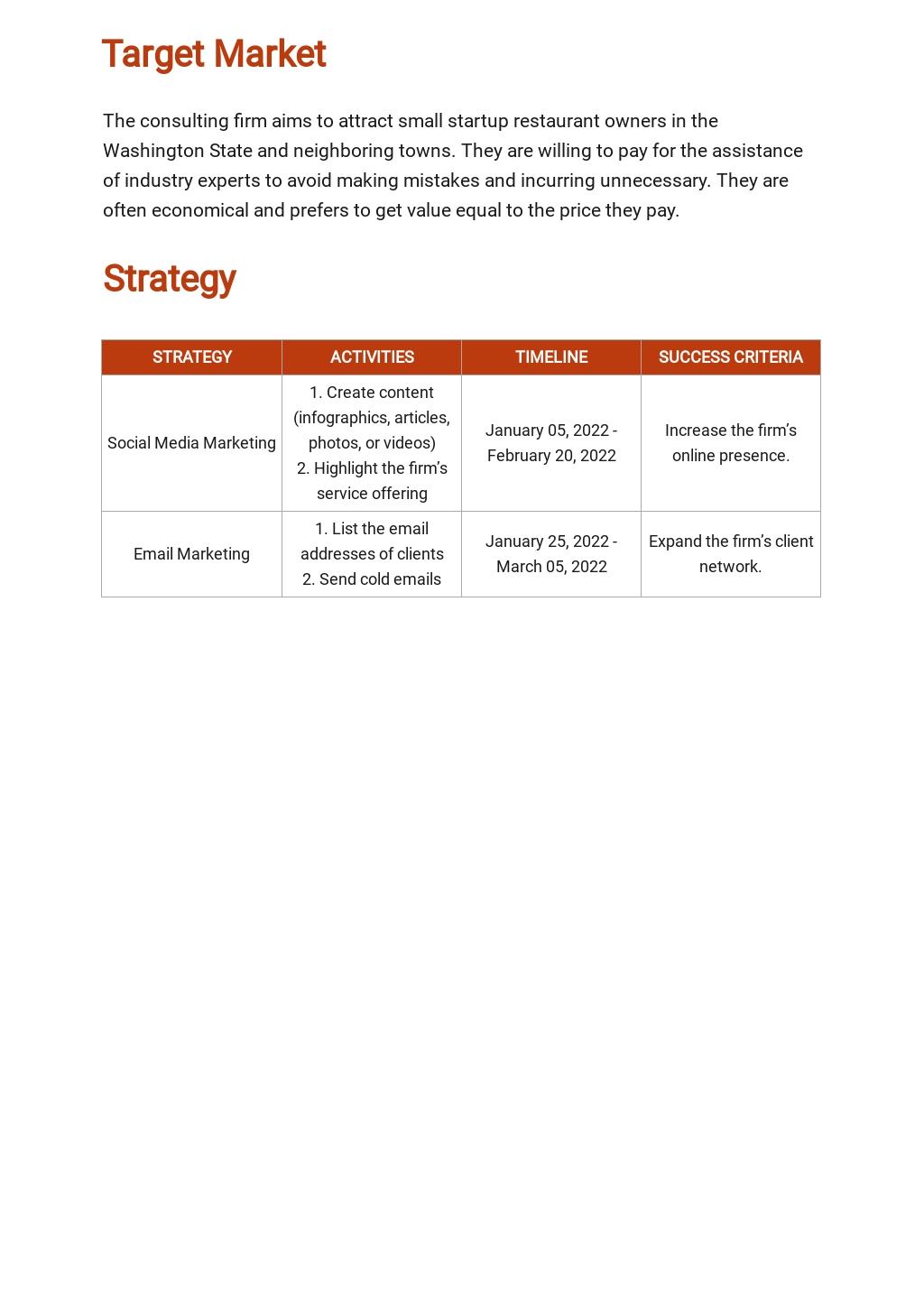 Restaurant Consulting Marketing Plan Template 2.jpe