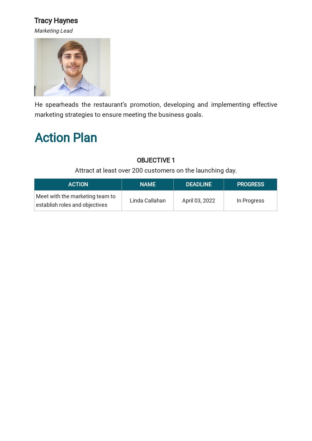 Restaurant Launch Marketing Plan Template 4.jpe