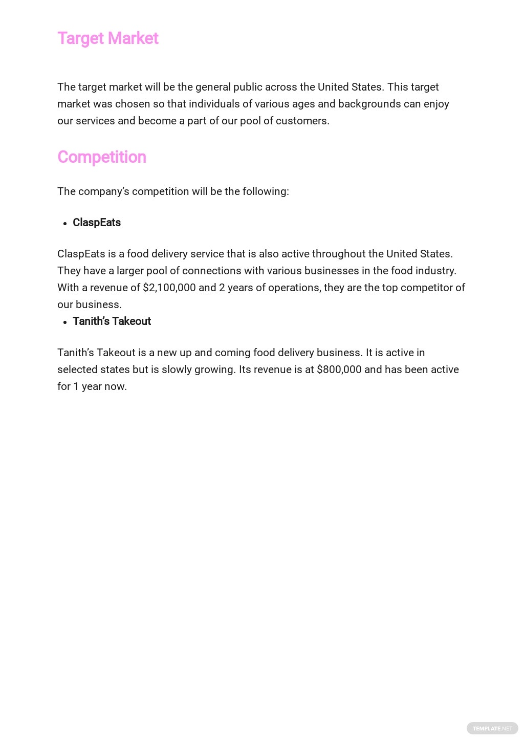 Food Delivery Business Plan Template 2.jpe