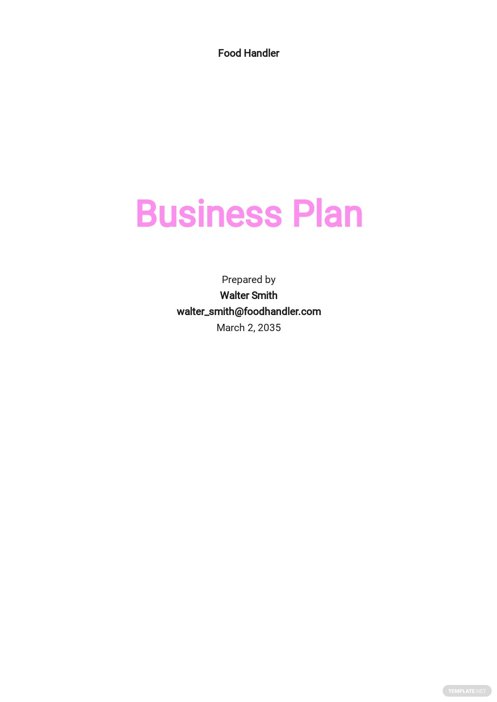 Food Delivery Business Plan Template.jpe