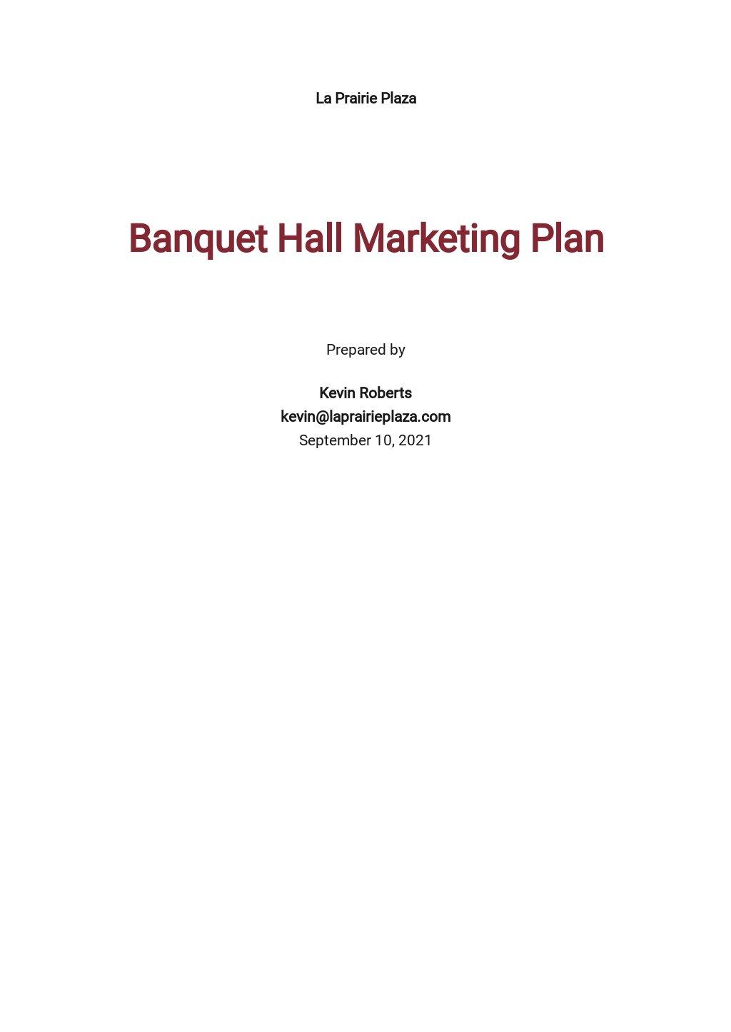 Banquet Hall Marketing Plan Template.jpe