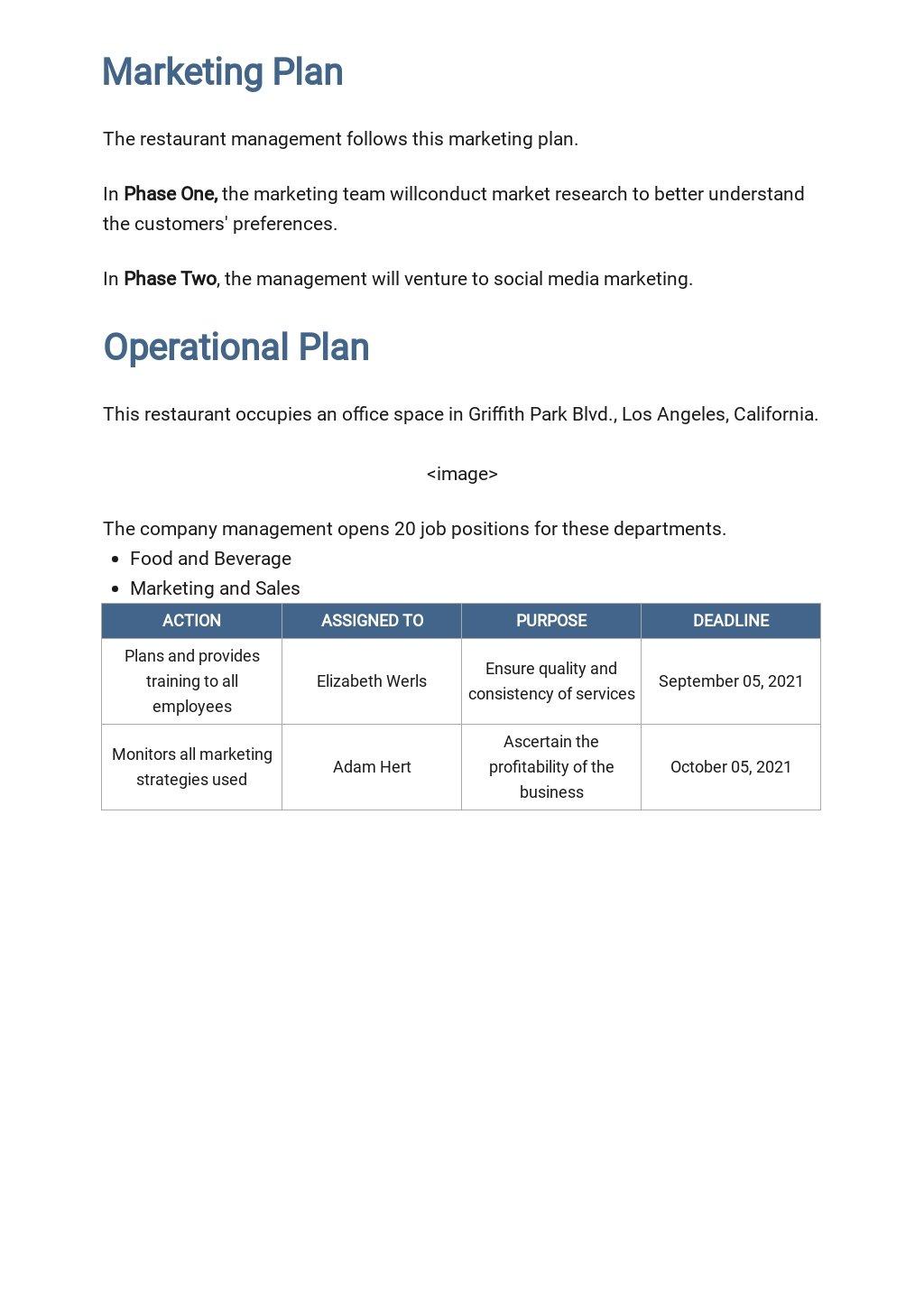 Restaurant Business Plan Guidelines Template 3.jpe