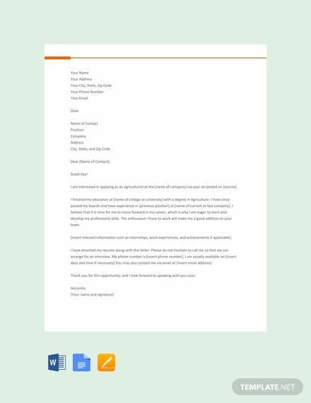66 Free Google Docs Cover Letter Templates Download Ready Made
