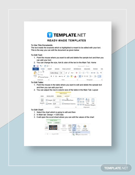 Restaurant BreakEven Calculation Worksheet Instructions