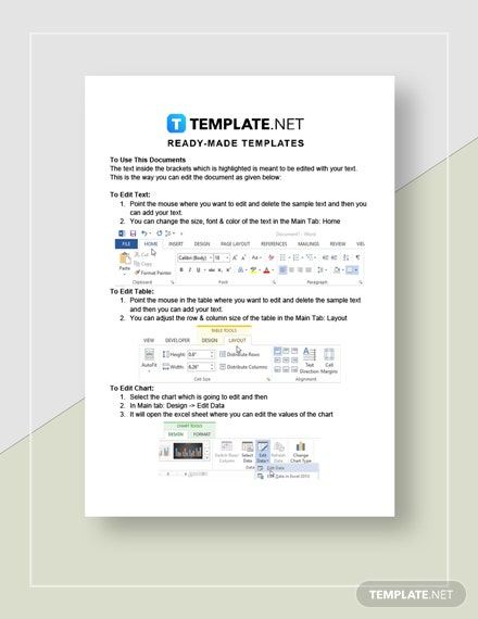 Restaurant Balance Sheet Monthly Instructions