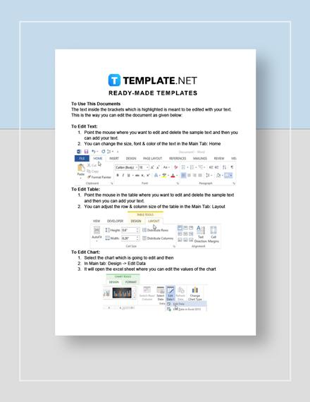 Itemized Receipt Instructions