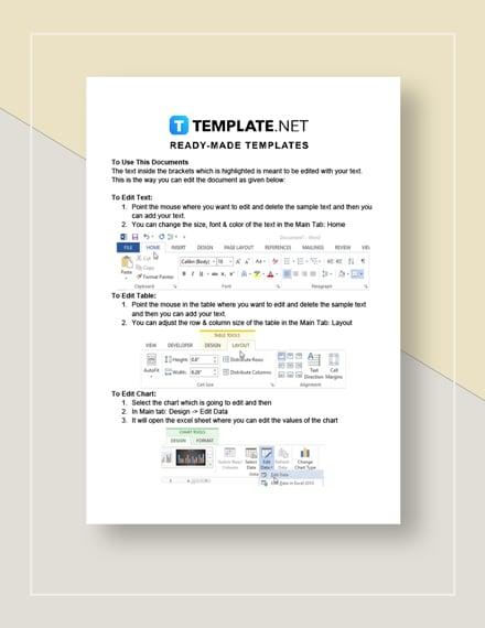 Sales Prospecting Sheet Instructions