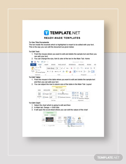 Employee TimeOff Request Form Instructions