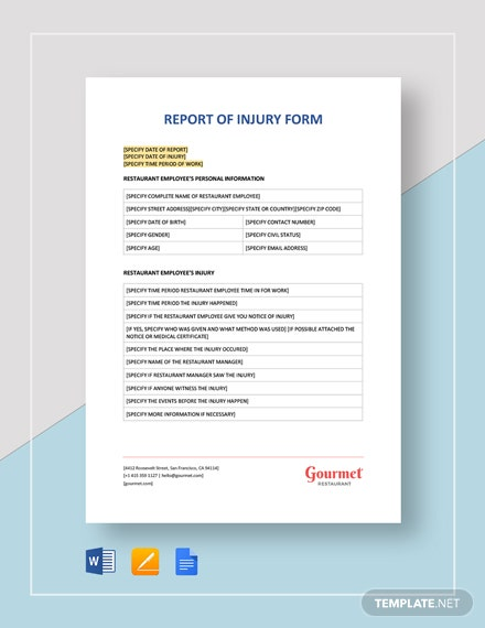 21+ Medical Report Templates - Docs, PDF, Word, Apple Pages