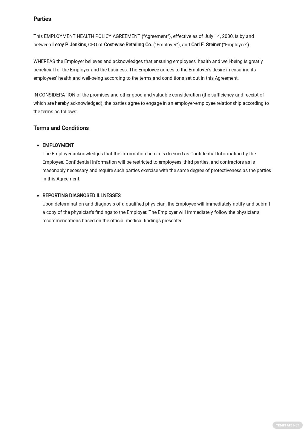 Employee Health Policy Agreement Template 1.jpe