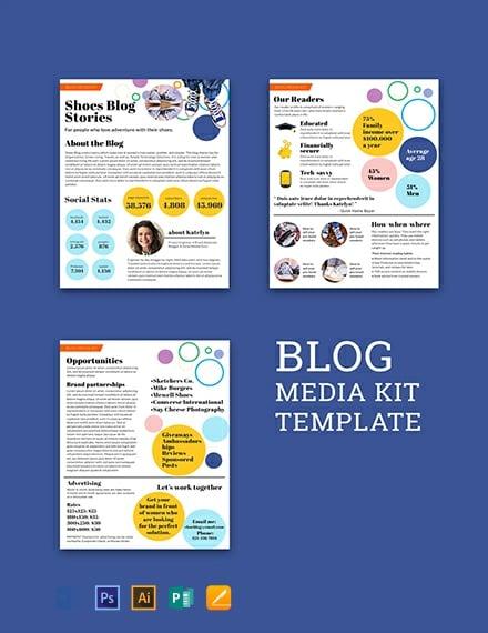 Free Blog Media Kit Template