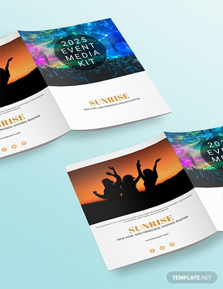 Free Event Media Kit Template