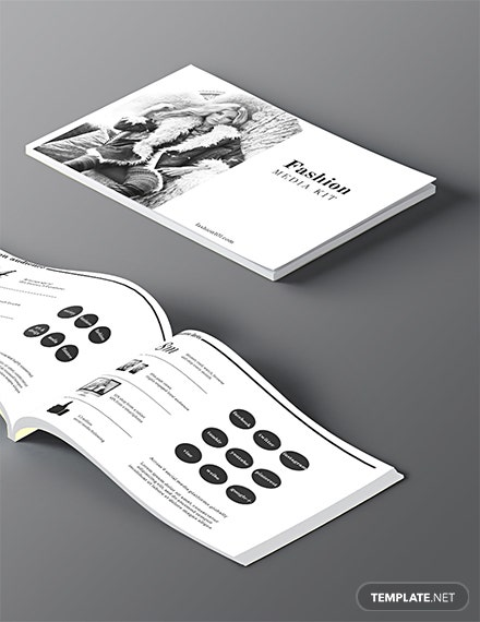 Free Fashion Media Kit Template
