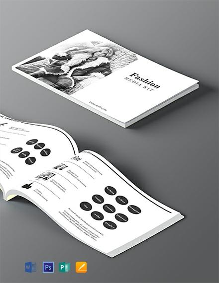 Free Fashion Media Kit Template