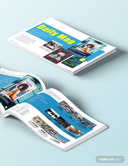 Free Magazine Advertising Media Kit Template