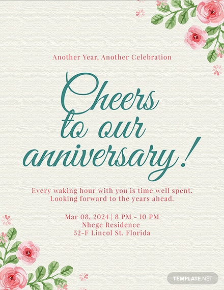free anniversary program template download 30 program templates in psd illustrator indesign word publisher pages templatenet