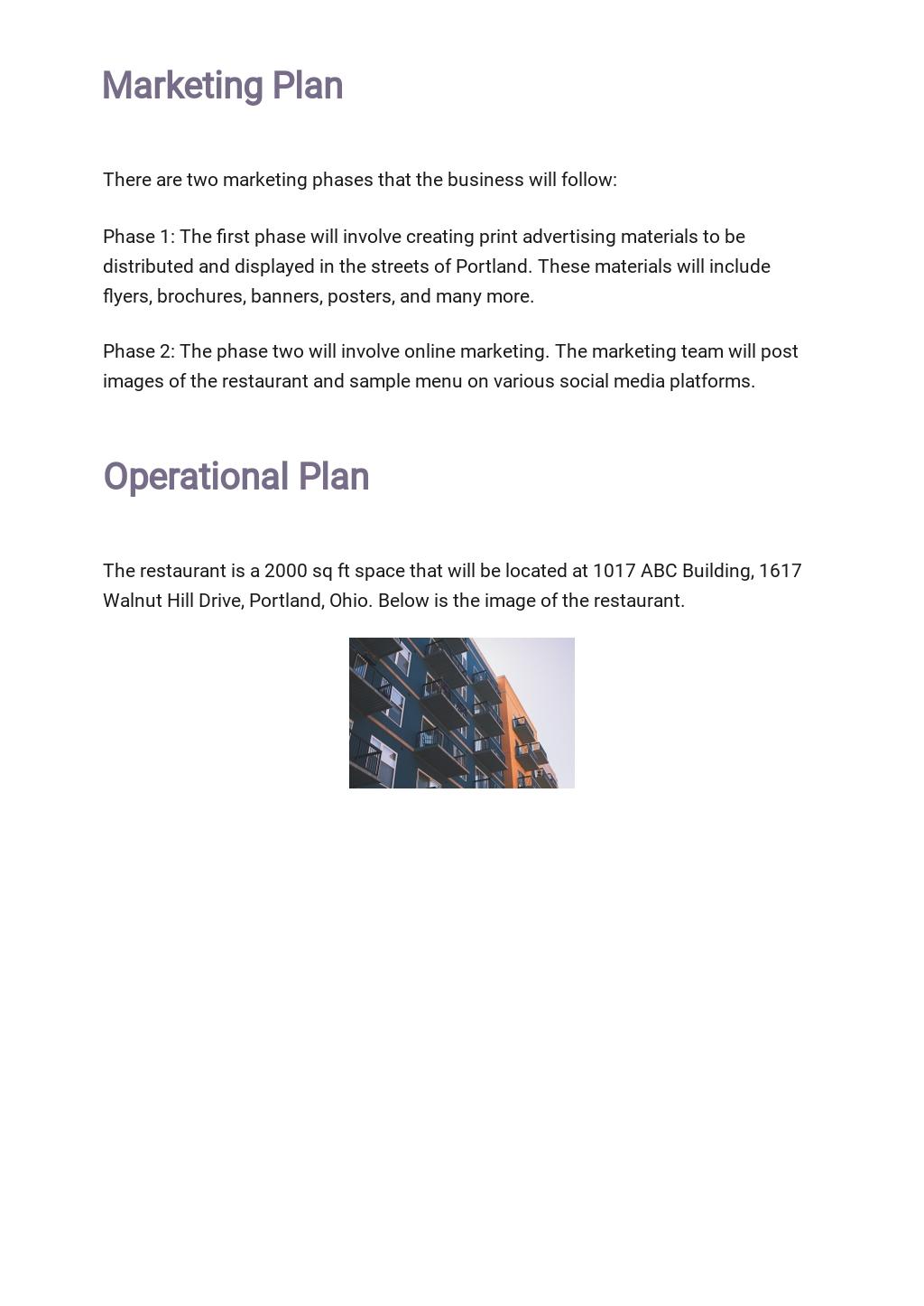 Restaurant Business Plan Outline Template 4.jpe
