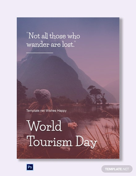 International Tourism Day Greeting Card