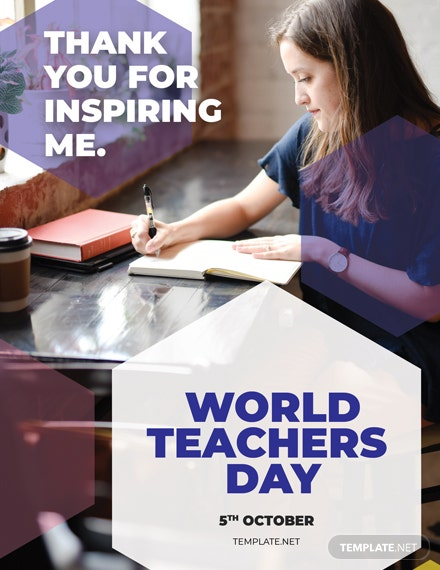 International Teachers Day Greeting Card