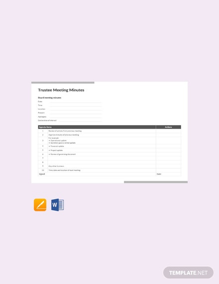 88 free meeting minutes templates download ready made template net